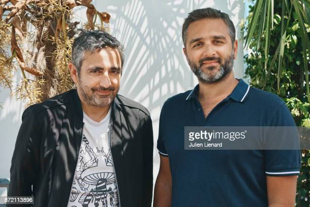 Filmmakers Eric Toledano and Olivier Nakache is photographed for Self Assignment on May 19 2017 in Cannes France
