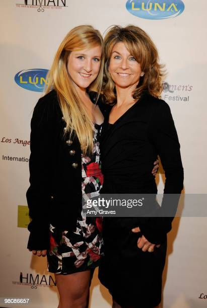 Filmmakers from Link in the Chain attend the Los Angeles Women's International Film Festival Opening Night Gala at Libertine on March 26 2010 in Los...