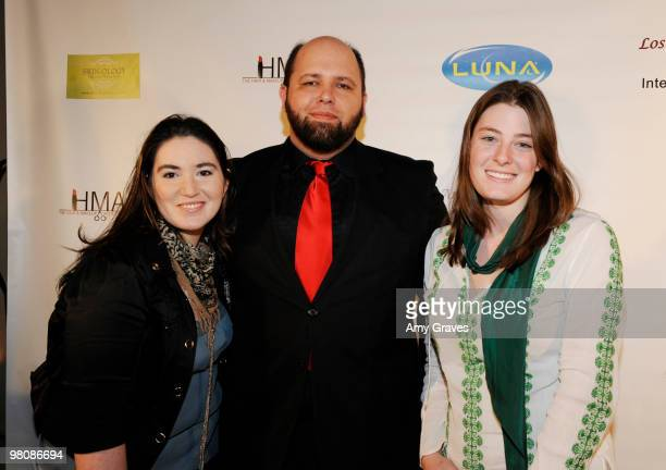 Filmmakers from The Last Bogatyr attend the Los Angeles Women's International Film Festival Opening Night Gala at Libertine on March 26 2010 in Los...