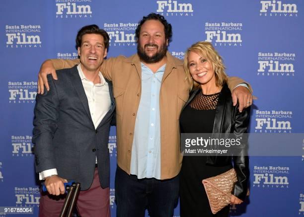 Filmmakers Grant Korgan Todd Berardi and Shawna Korgan at the Closing Night Film Santa Barbara Documentary Shorts during The 33rd Santa Barbara...