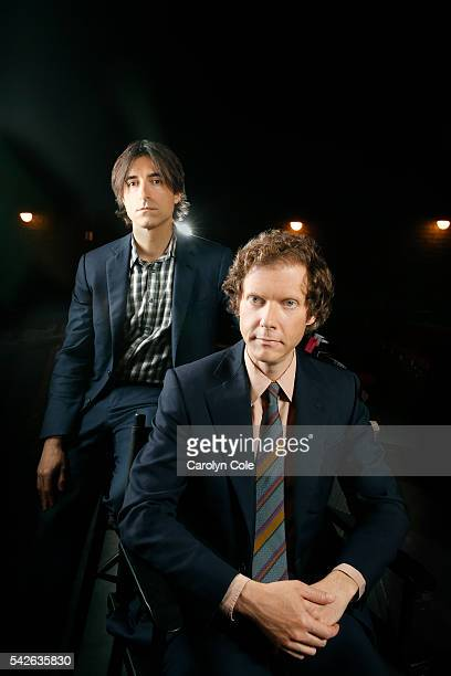 Filmmakers Jake Paltrow and Noah Baumbach are photographed for Los Angeles Times on June 2 2016 in New York City PUBLISHED IMAGE CREDIT MUST READ...