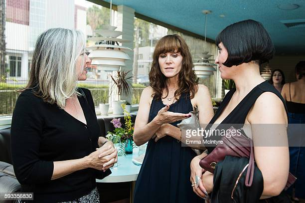 Filmmakers Jodi Willie and Thalia Marvros attend the Women of Cinefamily weekend closing party at The Standard Hollywood on August 21 2016 in West...