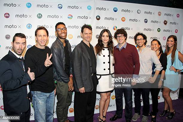 Filmmakers Joe Nation Robert Mann JD Witherspoon and Chris Valenti actress Emmy Rossum and filmmakers Andy Goldenberg David Aslan Nanea Miyata adn...