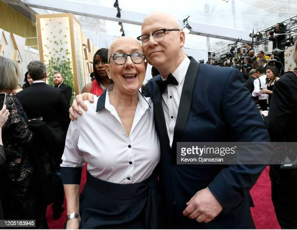 Filmmakers Julia Reichert and Steven Bognar attends the 92nd Annual Academy Awards at Hollywood and Highland on February 09 2020 in Hollywood...