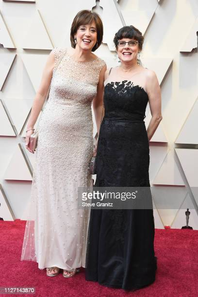 Filmmakers Julie Cohen and Betsy West attends the 91st Annual Academy Awards at Hollywood and Highland on February 24 2019 in Hollywood California