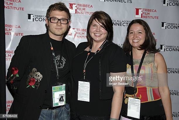 Filmmakers Justin Davis, Elizabeth Day and Winona Wilms attends the TAA Closing Night Party during the 5th Annual Tribeca Film Festival May 4, 2006...
