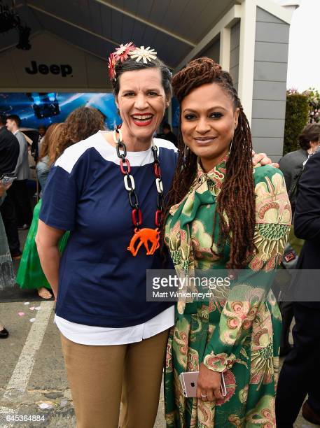 Filmmakers Kirsten Johnson and Ava DuVernay attends the 2017 Film Independent Spirit Awards at the Santa Monica Pier on February 25 2017 in Santa...