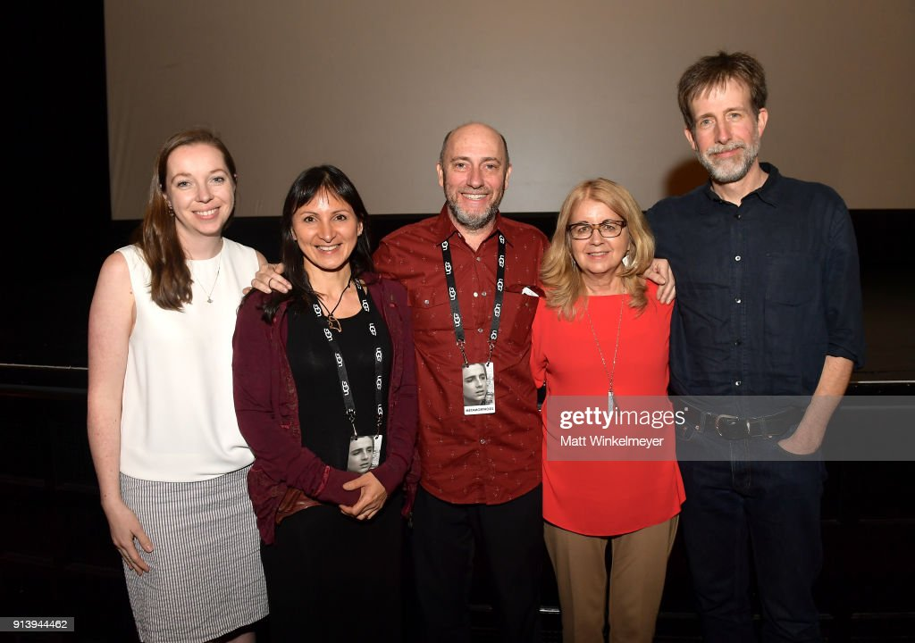 Filmmakers Lauren Grant, Nova Ami, Velcrow Ripper, Bonnie Thompson and David Christensen at a screening of 'Metamorphosis' during The 33rd Santa Barbara International Film Festival at the LoberoTheatre on February 2, 2018 in Santa Barbara, California.