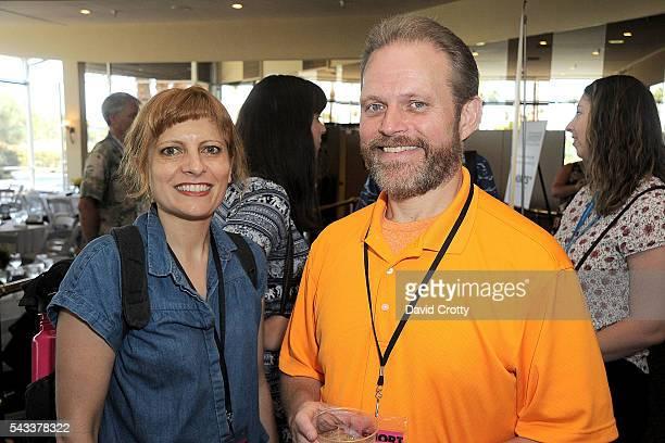 Filmmakers Lis Landi and Paul Sloop attend the 2016 Palm Springs International ShortFest Sunday Screenings Events on June 26 2016 in Palm Springs...