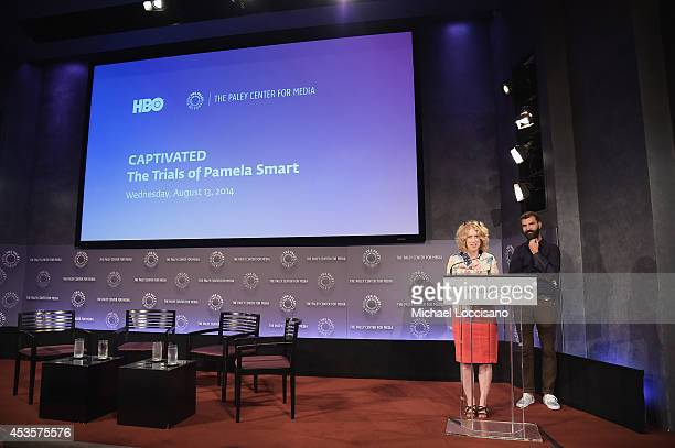 Filmmakers Lori Cheatle and Jeremiah Zagar introduce a special screening of the HBO Documentary Film Captivated The Trials Of Pamela Smart at the...