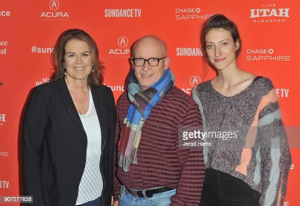 Filmmakers Marina Zenovich Alex Gibney and Shirel Kozak attend the 'Robin Williams Come Inside My Mind' Premiere during the 2018 Sundance Film...