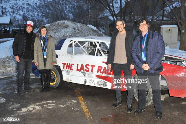 Filmmakers Michael R Dweck Charlotte Munch Bengsten Gregory Kershaw and Michael L Dweck attend the 'The Last Race' and 'Marfa' Premieres during the...