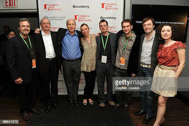 Filmmakers Paul Atkins Nick Barton Vice President of Programs at the Sloan Foundation Doron Weber Diane Bell Christopher Eigeman Daniel Ragussis...