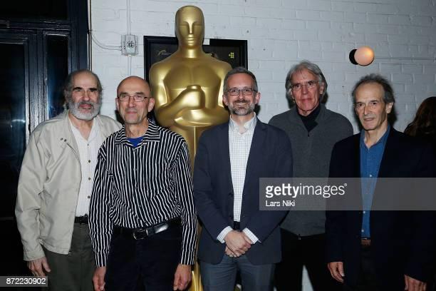 Filmmakers Robert Swarthe Frank Mouris host Brian Meacham composer Michael Riesman and filmmaker Nick Doob attend the Restored Animation Rarities...