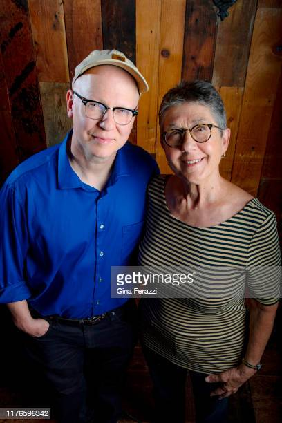 Filmmakers Steven Bognar and Julia Reichert are photographed for Los Angeles Times on August 12 2019 in Los Angeles California PUBLISHED IMAGE CREDIT...