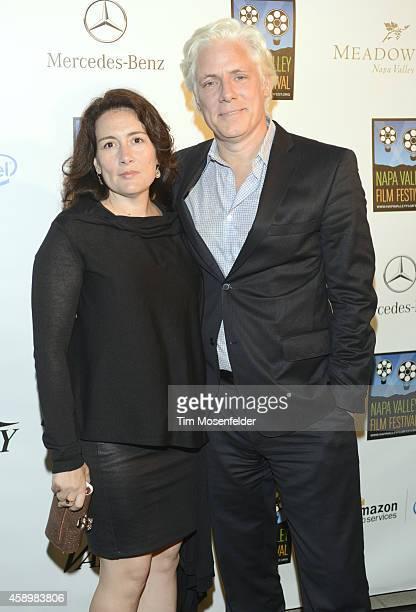 Filmmakers Tara Lynn Orr and Philippe Brenninkmeyer attend the Festival Gala during the Napa Valley Film Festival on November 13 2014 in Napa...