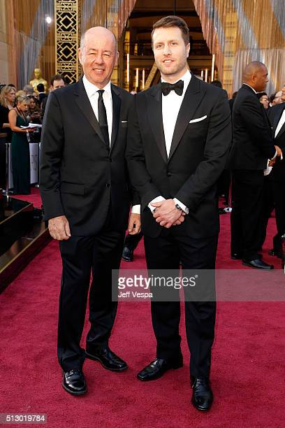 Filmmakers Tom Yellin and Matthew Heineman attend the 88th Annual Academy Awards at Hollywood Highland Center on February 28 2016 in Hollywood...