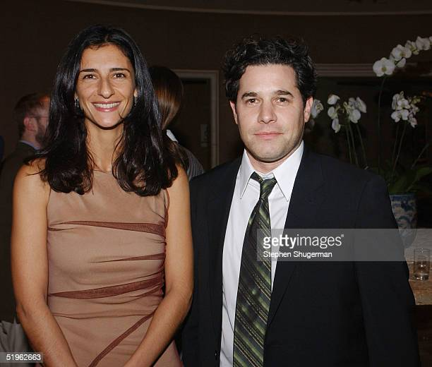 Filmmakers Zana Briski and Ross Kauffman attend The 30th Annual Los Angeles Film Critics Association Awards at The St Regis Hotel on January 13 2005...
