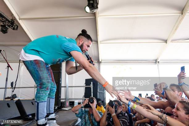 Filmore performs on stage during day 3 at Tortuga Music Festival on April 14 2019 in Fort Lauderdale Florida