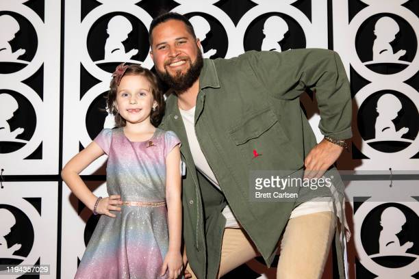 Filmore walks the red carpet with St Jude patient Londyn during Country Cares for St Jude Kids Seminar at The Peabody on January 17 2020 in Memphis...