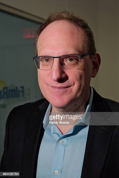 FilmRise CEO Danny Fisher attend FilmRise Celebrates new office in Industry City Brooklyn at FilmRise on February 25 2015 in Brooklyn New York