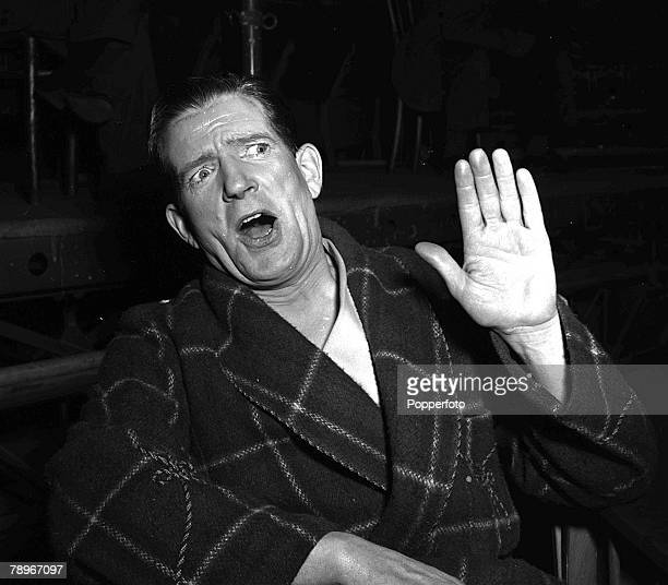 TV Films Theatre British actor Ted Ray pictured during scenes of 'Red Peppers' from the short oneact play which forms part of the film 'Meet me...