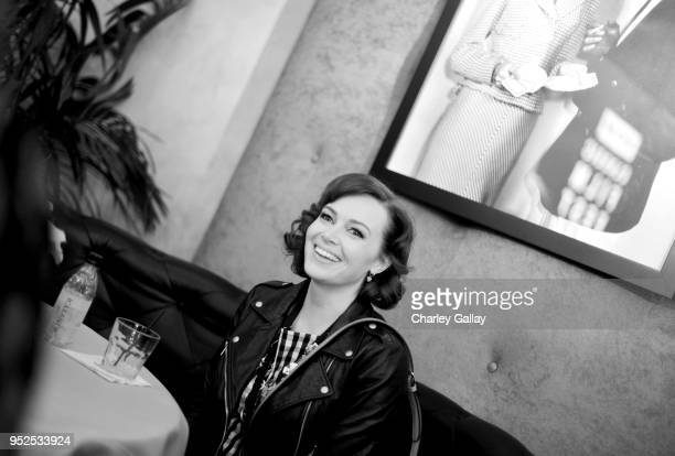 TCM Filmstruck host Alicia Malone attends day 3 of the 2018 TCM Classic Film Festival on April 28 2018 in Hollywood California 350569