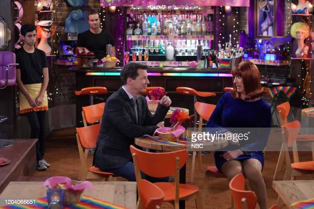 """Filthy Phil, Part II"""" Episode 311 -- Pictured: Sean Hayes as Jack McFarland, Clinton Leupp as Miss Coco Peru --"""