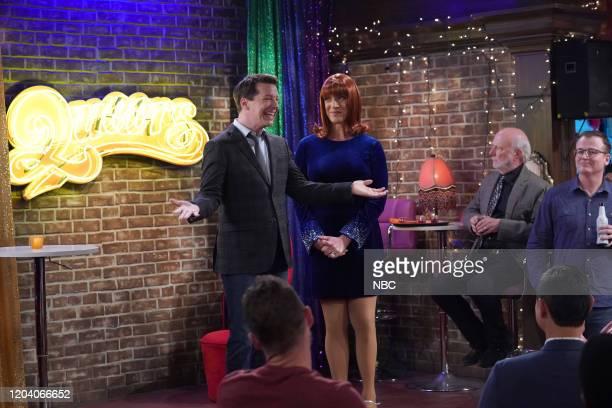 "Filthy Phil, Part II"" Episode 311 -- Pictured: Sean Hayes as Jack McFarland, Clinton Leupp as Miss Coco Peru, James Burrows as bar patron --"