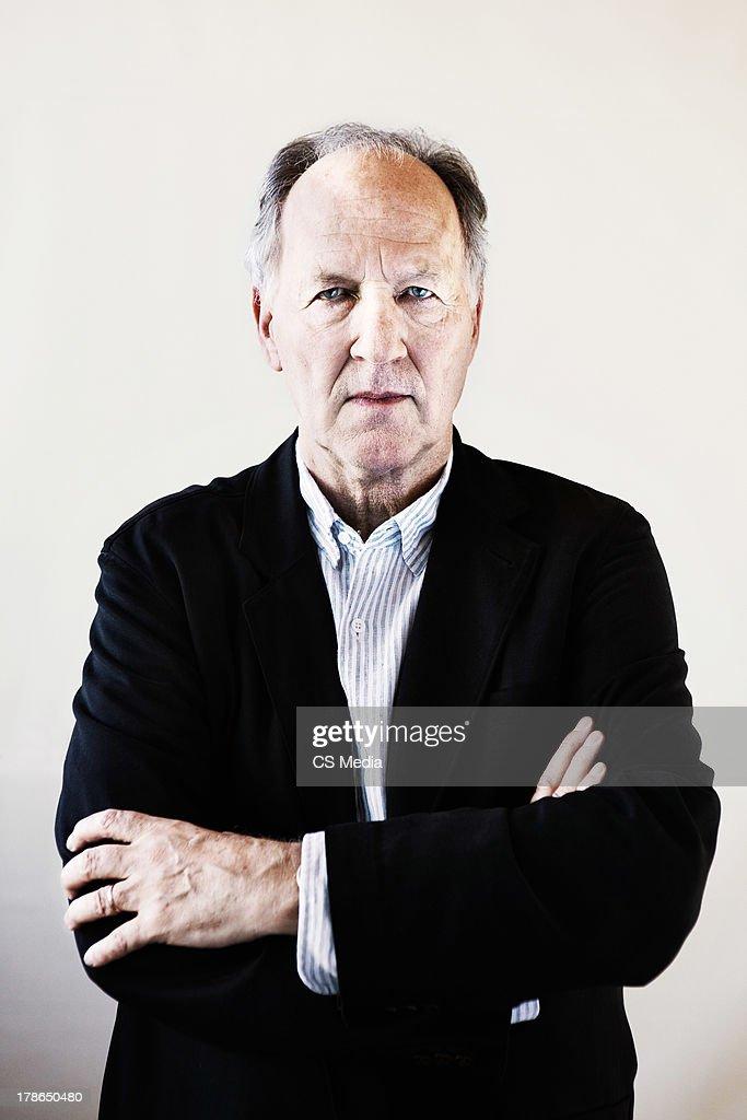 Werner Herzog, Portrait shoot, September 15, 2009
