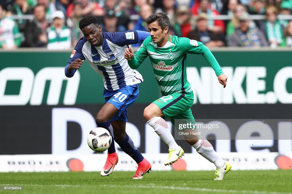 Werder Bremen v Hertha BSC - Bundesliga : Nachrichtenfoto