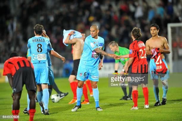 Fin du match - Joie Karl MEDJANI - - Boulogne / Ajaccio - 34eme journee de Ligue 2, Photo : Dave Winter / Icon Sport
