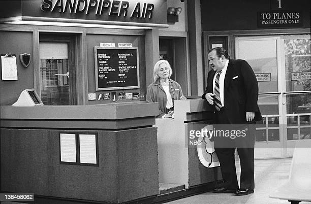 WINGS Final Approach Part 12 Episode 2324 Air Date Pictured Rebecca Schull as Fay Evelyn Schlob Dumbly DeVay Cochran David Schramm as Roy Biggins