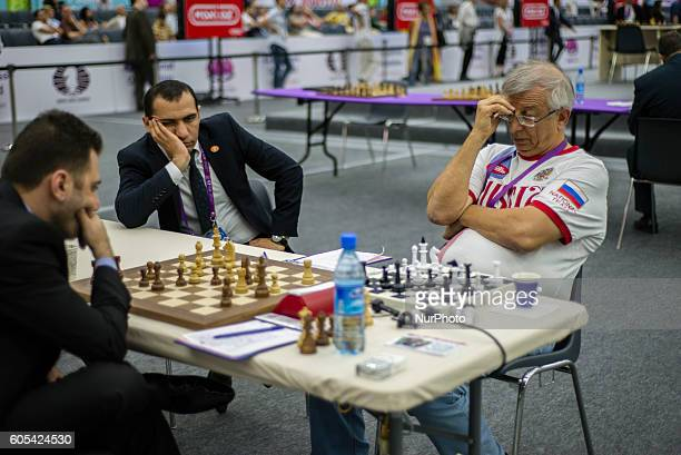 Final day of the 42nd Chess Olympiad in Baku Azerbaijan on Tuesday September 13 2016