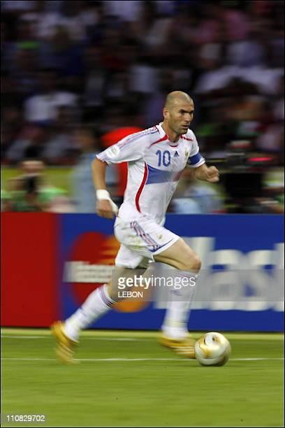 Final Fifa World Cup Germany 2006 Italie Vs France In Berlin Germany On July 092006 Zinedine Zidane
