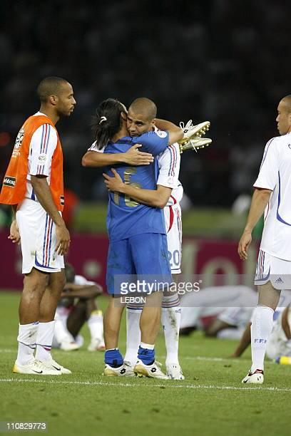 Final Fifa World Cup Germany 2006 Italie Vs France In Berlin Germany On July 092006 Camoranesi and Trezeguet