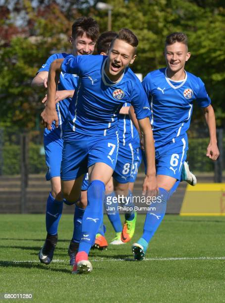 Final game between TSG 1899 Hoffenheim and GNK Dinamo Zagreb during the Nike Premier Cup 2017 on may 7 2017 in Berlin Germany