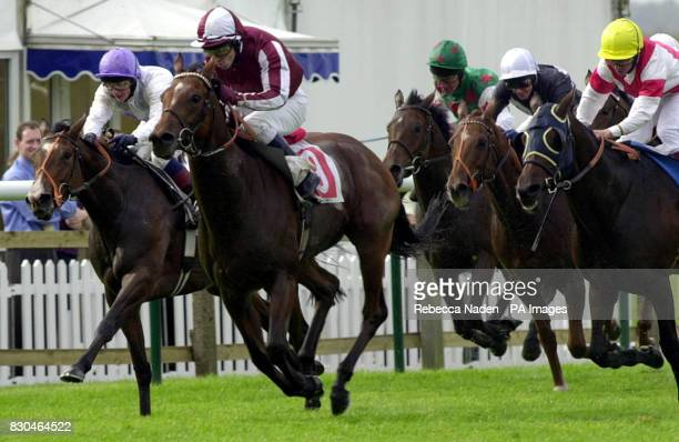 Final Lap ridden by Jimmy Fortune wins the sport4castcom Claiming Stakes at Newmarket Races