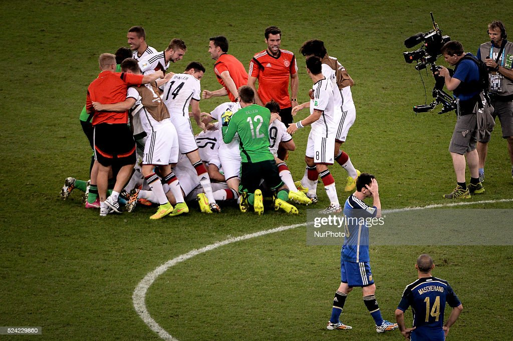 FIFA World Cup: Final - Germany vs Argentina : News Photo