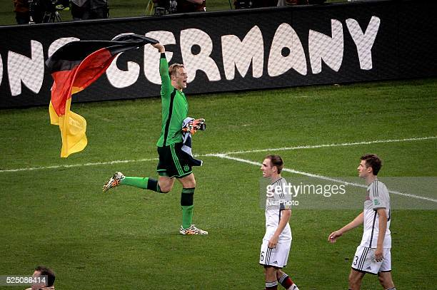Final match of the 2014 World Cup between Germany and Argentina this Sunday July 13th in Maracan�� Stadium Rio de Janeiro