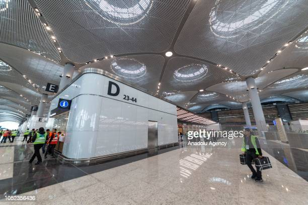 Final operational trial is carried out with three thousand personnels at the new Istanbul Airport which will be formally opened on Oct 29 in Istanbul...