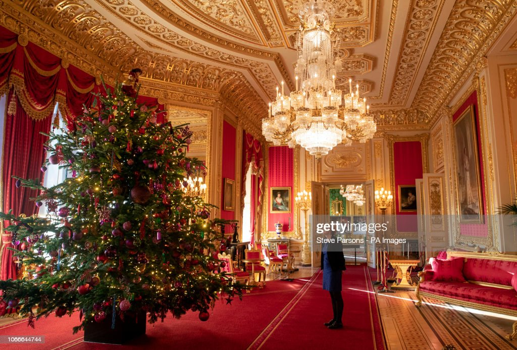 Christmas at Windsor Castle : News Photo
