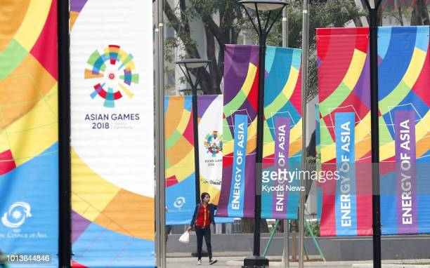 Final preparations are under way on Aug 8 at the athletes' village in Jakarta for the Asian Games 2018 which will be held from Aug 18 through Sept 2...