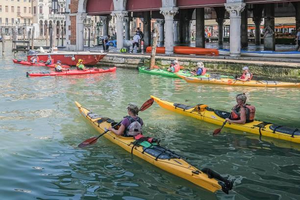 ITA: Preparation And Atmosphere Ahead Of  The Vogalonga Regatta 2019