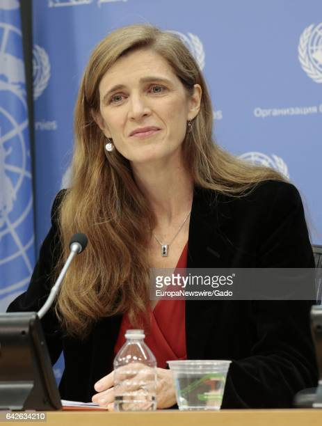Final Press Conference by United States Ambassador Samantha Power to UN Correspondents at the UN Headquarters in New York January 13 2017