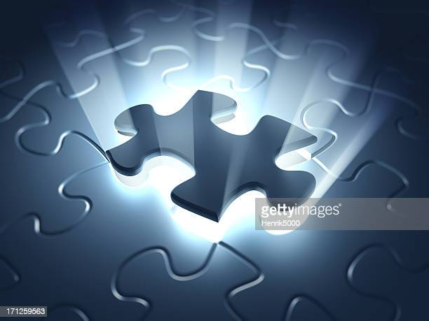 final puzzle piece - jigsaw piece stock pictures, royalty-free photos & images