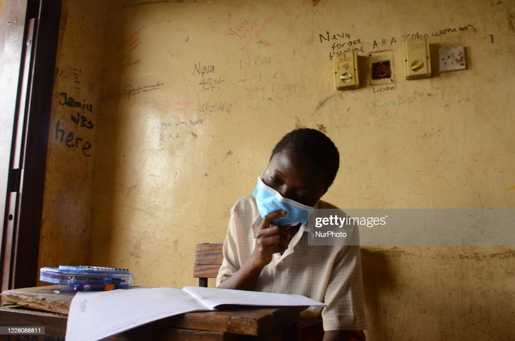 A Final Year Students Of Agidinbi Senior Grammar School Ikeja Lagos News Photo Getty Images