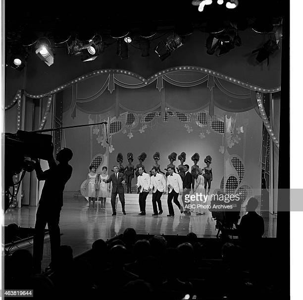 March 28 1964 PRODUCTION SHOT OF HOST GEORGE BURNS WITH THE