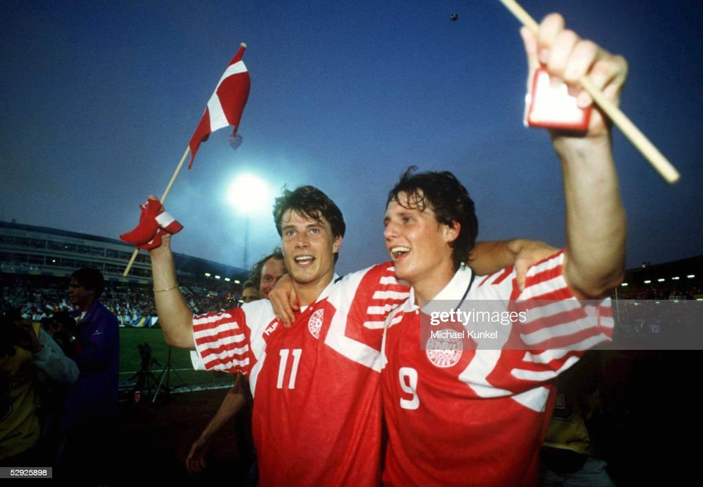 EM 1992 Finale DAENEMARK - DEUTSCHLAND : News Photo