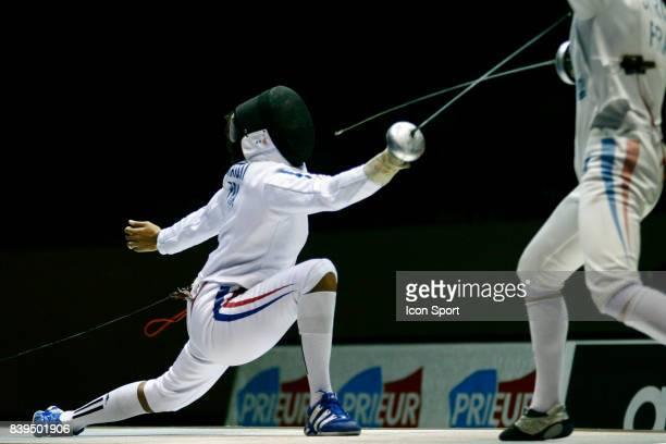 DUCHENE Finale Epee Dames Championnats de France 2006 Stade Pierre de Coubertin Paris